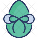 Egg Gift Wrapped Icon