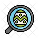 Easter Easter Egg Colorful Icon