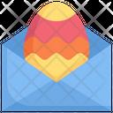 Egg In Envelope Icon
