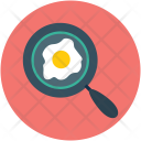 Egg In Pan Icon