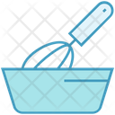 Bakery Bowl Hand Beater Icon