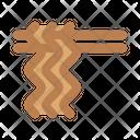 Egg Noodles Icon