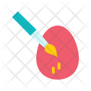 Paint Egg Paschal Icon