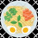 Egg Salad Green Icon