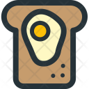 Egg Sandwich Icon