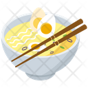 Egg Soup Bowl Icon
