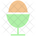Boiled Egg Egg Cup Icon