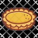 Egg Tart Bakery Food Icon
