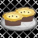 Egg Tart Food And Restaurant Dessert Icon