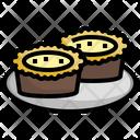 Egg Tart Icon
