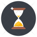 Egg Timer Sandglass Sand Clock Icon