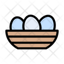 Egg Tray Chicken Icon