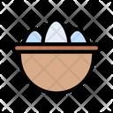 Egg Easter Bowl Icon