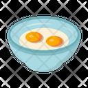 Egg Omelette Yolk Icon