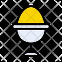 Egg Yolk Icon
