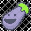 Eggfruit Eggplant Vegetable Icon