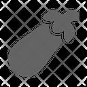 Eggplant Aubergine Harvest Icon