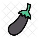 Eggplant Vegetable Cooking Icon