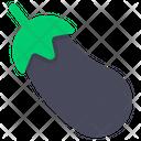 Eggplant Aubergine Vegetable Icon