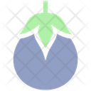 Eggplant Brinjal Vegetables Icon