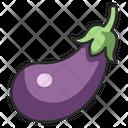 Eggplant Food Vegetable Icon