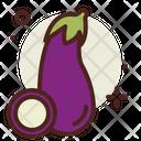 Eggplant Brinjal Food Icon