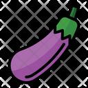 Eggplant Health Vegetarian Icon