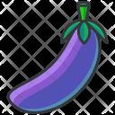 Eggplant Aubergine Icon