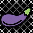Eggplant Vegetables Fruit Icon
