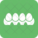 Eggs Tray Easter Icon