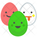 Eggs Easter Egg Icon