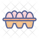 Egg Tray Food Icon