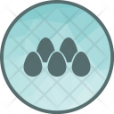 Eggs Egg Decoration Icon