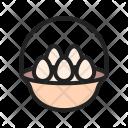 Eggs Basket Boil Icon