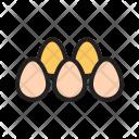 Eggs Egg Decoration Icon