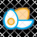 Healthy Food Chicken Icon