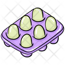 Eggs Egg Tray Egg Box Icon