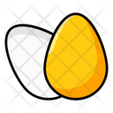 Eggs Dairy Ingredient Icon