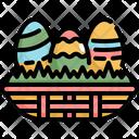 Eggs Egg Basket Icon