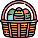 Eggs Basket Egg Icon