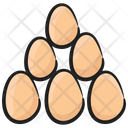 Eggs Chick Egg Farming Icon
