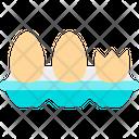 Eggs Food Gastronomy Icon