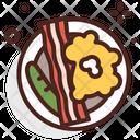 Eggs Scrambled Eggs And Bacon Bacon Icon