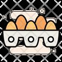 Food Eggs Carton Icon