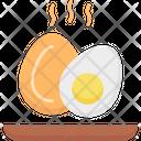 Eggs Fast Food Food Icon