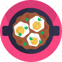 Asian Food Eggs Cooking Icon