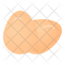 Eggs Boiled Eggs Healthy Diet Icon