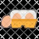 Eggs Egg Carton Icon