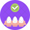 Keto Diet Ketogenic Eggs Icon