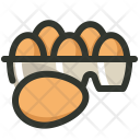 Eggs Tray Egg Icon